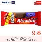 ブルボン スローバー チョコレートクッキー 9個セット 送料無料 ポイント消化