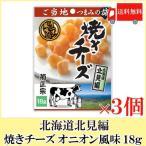 おつまみ 珍味 菊正宗 ご当地つまみの旅 焼きチーズ オニオン風味(北海道北見編) 18g×3袋 送料無料