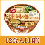 日清 麺ニッポン 信州味噌ラーメン119g×12個