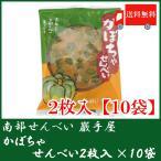 巖手屋 かぼちゃせんべい 2枚入 × 10袋 (合計20枚)(全国送料無料)(岩手屋)