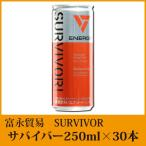 富永貿易 サバイバー【SURVIVOR】250ml×30本【エナジードリンク】