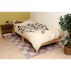 べッド シングルベッド すのこベッド フレームのみ  木製シングルベッド パイン材 木製ベッド スノコベッド シングルサイズ 木製 シングル  コンセント付き