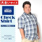 大きいサイズ メンズ シャツ 半袖シャツ チェックシャツ チェック柄 半袖Tシャツ 夏服 大きい イワショー ホワイト ブラック 白 黒 2L 3L 4L 5Lの画像