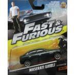 1/55 ワイルドスピード  マセラティ ギブリ Furious 7 Maserati Ghibli マテル MATTEL