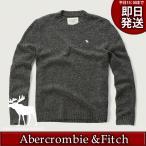 アバクロ ニット・セーター メンズ グレー アバクロ(アバクロンビー&フィッチ Abercrombie & Fitch)