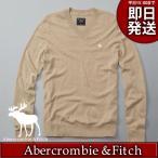 アバクロ ニット・セーター メンズ カーキ アバクロ(アバクロンビー&フィッチ Abercrombie & Fitch)