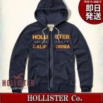 ホリスター パーカー メンズ 紺/ネイビー ホリスター(HOLLISTER)