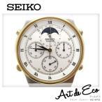 SEIKO セイコー ムーンフェイズクロノグラフメンズクォーツ/ブランド時計/メンズ/人気/おすすめ/中古美品