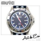 muta ムータマリン アクアマリーン MU-1208 メンズクォーツ 腕時計/ブランド時計/メンズ/人気/おすすめ/中古美品