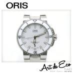 オリス 腕時計 アクイス デイト 白 ラバーベルト AT ORIS/ブランド時計/人気/おすすめ/中古