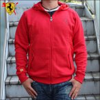 PUMA&Ferrari プーマ&フェラーリ 【メンズ】フーディッドスウェットジャケット ジップフーディー FERRARI HOODED SWEAT JACKET ROSSO CORSA 460957-02
