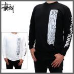 ステューシー Tシャツ STUSSY (ステューシー) メンズ 長袖Tシャツ ロンT ヴィーナス プリント 長袖 Tシャツ ロゴ Tシャツ 全2色 1993988