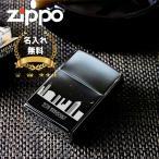 zippo 名入れ ライター ジッポ 彫刻 ネーム 刻印 ブラックアイス ジッポー カジュアルデザイン ギフト 誕生日 記念日 オイルライター