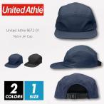 ジェット キャップ ナイロン 無地 United Athle ユナイテッドアスレ 9672-01 f フリーサイズ 帽子 ストリート スポーツ