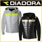 ショッピングディアドラ DIADORA(ディアドラ) 2017年秋冬モデル DTW7183 EVO中綿ハイブリッドジャケット