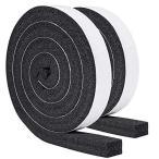 隙間テープ 防音 防水 気密 断熱 窓用エアコンや空気清浄機に適用 静音テープ 気密防水パッキン25mm (幅) x 25mm (厚さ) x
