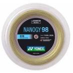 【在庫限り】 YONEX (ヨネックス) ナノジー98 (NBG98-2) 200m  ロ ールガット 【バドミントンガット】 【送料無料】