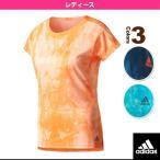 [アディダス テニス・バドミントンウェア(レディース)]SUBKIT 総柄Tシャツ/レディース(BXI01)