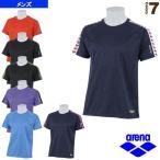 [アリーナ オールスポーツウェア(メンズ/ユニ)]チームラインTシャツ/メンズ(ARF-7104)