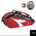 ショッピングディアドラ ディアドラ テニスバッグ ラケットバッグ6(DTB7680)