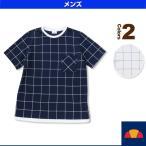 [エレッセ テニス・バドミントンウェア(メンズ/ユニ)]クルーネックTシャツ/メンズ(EM07206)