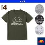 エレッセ テニス・バドミントンウェア(メンズ/ユニ) Handwriting Tee/ハンドライティング Tシャツ/メンズ(EM17260)