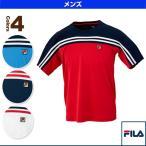 フィラ テニス・バドミントンウェア(メンズ/ユニ) ゲームシャツ/メンズ(VM5205)