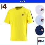 フィラ テニス・バドミントンウェア(メンズ/ユニ) 半袖ゲームシャツ/メンズ(VM5302)