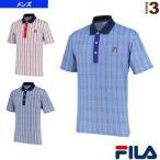 フィラ テニス・バドミントンウェア(メンズ/ユニ) ポロシャツ/メンズ(VM5308)