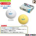 ケンコー ソフトテニスボール  【ネーム入れ】『1箱(1ダース・12球入)』ケンコーソフトテニスボールスタンダード(練習球)