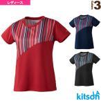 キットソン テニス・バドミントンウェア(レディース)  ゲームシャツ/レディース(0384001)