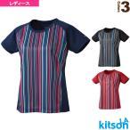 キットソン テニス・バドミントンウェア(レディース)  ゲームシャツ/レディース(0384002)