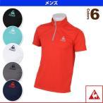 [ルコック オールスポーツウェア(メンズ/ユニ)]ハーフジップ半袖シャツ/メンズ(QB-712665)
