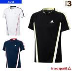 ルコック テニス・バドミントンウェア(メンズ/ユニ) 半袖シャツ/メンズ(QT-010271)
