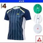 ルコック テニス・バドミントンウェア(メンズ/ユニ) 半袖シャツ/メンズ(QT-010273)