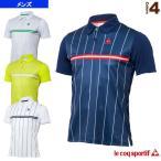 [ルコック テニス・バドミントンウェア(メンズ/ユニ)]半袖ポロシャツ/メンズ(QT-710373)