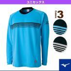 [ミズノ テニス・バドミントンウェア(メンズ/ユニ)]ブレスサーモ長袖Tシャツ/ユニセックス(62JA6501)