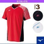 [ミズノ テニス・バドミントンウェア(メンズ/ユニ)]ゲームシャツ/ユニセックス(72MA6007)