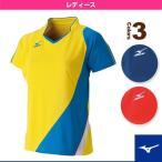 [ミズノ テニス・バドミントンウェア(レディース)]ゲームシャツ/レディース(72MA6207)