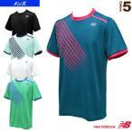 ニューバランス テニス・バドミントンウェア(メンズ/ユニ) クイックドライゲームTシャツ/メンズ(JMTT7124)