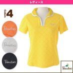 [パラディーゾ テニス・バドミントンウェア(レディース)]半袖ゲームシャツ/レディース(DCL08A)