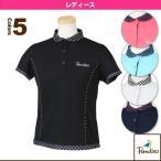 [パラディーゾ テニス・バドミントンウェア(レディース)]半袖ゲームシャツ/レディース(ECL01A)