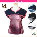 [パラディーゾ テニス・バドミントンウェア(レディース)]半袖ゲームシャツ/レディース(ECL04A)