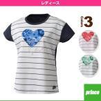 [プリンス テニス・バドミントンウェア(レディース)]ゲームシャツ/レディース(WL7042)
