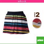 プリンス テニス・バドミントンウェア(レディース)  スカート/レディース(WL7325)テニスウェア女性用
