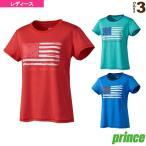 プリンス テニス・バドミントンウェア(レディース) Tシャツ/レディース(WL8061)