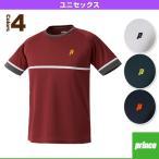 [プリンス テニス・バドミントンウェア(メンズ/ユニ)]ゲームシャツ/ユニセックス(WU6021)