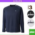 【ポイント10倍】[プリンス テニス・バドミントンウェア(メンズ/ユニ)]ロングスリーブシャツ/ユニセックス(WU7008)