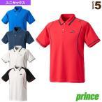 プリンス テニス・バドミントンウェア(メンズ/ユニ)  ゲームシャツ/ユニセックス(WU9111)