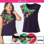 [ローチェ(roche) テニス・バドミントンウェア(レディース)]レディースゲームシャツ/レディース(R6S34V)
